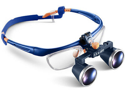 2.5x 420mm Medical Dental Binocular Galileo Frame Loupe Magnifier Glass Fd-503g