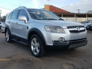 2008 Holden Captiva CG MY08 LX AWD Silver 5 Speed Sports Automatic Wagon Blair Athol Port Adelaide Area Preview