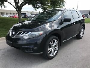 2011 Nissan Murano AWD|ACCIDENT FREE|CAMERA|LEATHER|PANO SUNROOF