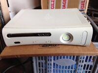 Xbox 360 Console + 8 Games