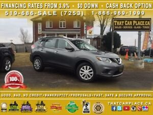 2014 Nissan Rogue S-$73/Wk-CleanCarproof-Bluetooth-RearCam-USB/A