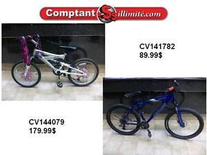 Nos vélos sont sécuritaires et abordables Chez Comptant illimite.com 819-566-3333
