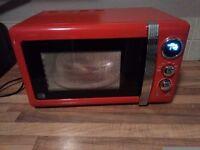 SWAN Retro Microwave Model:SM22030RN