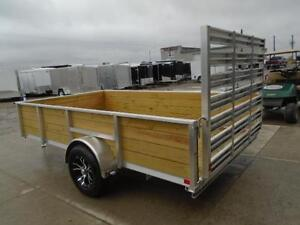 ALL ALUMINUM HIGH SIDED 6.5 X 12' LANDSCAPE TRAILER LOWEST PRICE London Ontario image 4