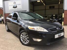 2011/11 Ford Mondeo 2.0TDCi 163 BHP Zetec TD TURBO DIESEL 5 Door Metallic Black