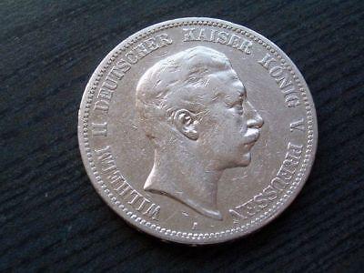 5 Mark Preußen Wilhelm II. 1895 - Silber