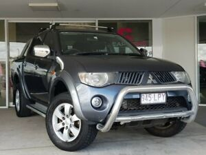 2008 Mitsubishi Triton ML MY09 GLX-R Double Cab Blue 4 Speed Automatic Utility Brendale Pine Rivers Area Preview
