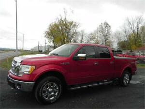 2010 Ford F-150 Lariat 4x4, Toit ouvrant, Bancs en cuir, GPS