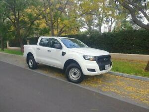 2016 Ford Ranger PX MkII XL Double Cab White 6 Speed Sports Automatic Utility Hawthorn Mitcham Area Preview