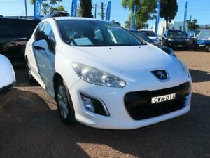 2011 Peugeot 308 T7 MY12 Active White 6 Speed Manual Hatchback Minchinbury Blacktown Area Preview