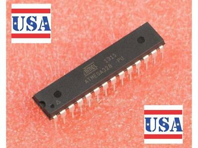 Atmega328 - Pu Dip20 Microcontroller With Arduino Uno Bootloader Us Shipping