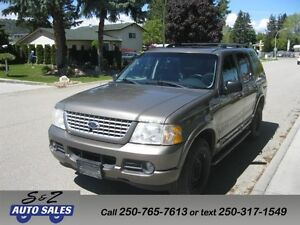 2002 Ford Explorer Limited 4x4 2 sets of tires on rims