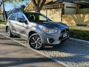 2015 Mitsubishi ASX XB MY15 LS 2WD Silver 6 Speed Constant Variable Wagon Hawthorn Mitcham Area Preview