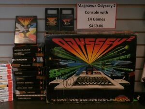 Magnavox Odyssey 2 Console with 14 games