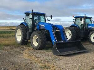 2016 New Holland T7.210 Tractor