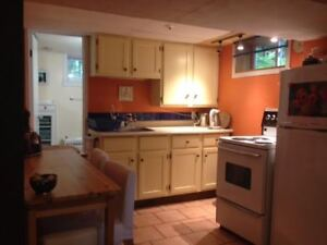 FURNISHED BASEMENT SUITE IN OLD STRATHCONA