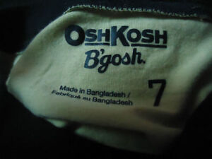 Boys Size 7 OshKosh B'Gosh Neon Green Short sleeve T-Shirt Kingston Kingston Area image 3