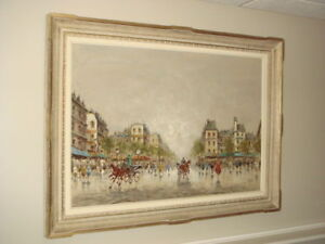 ORIGINAL SIGNED OIL ON CANVAS PAINTING BY ANTONIO DEVITY