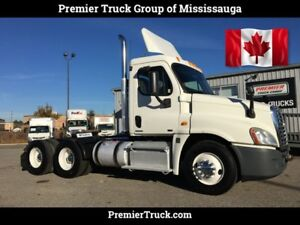 2012 Freightliner Cascadia Day Cab, Certified, Low kms, New DEF