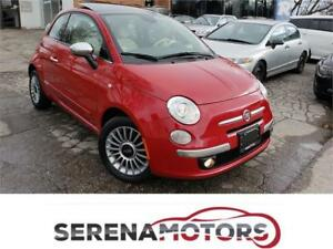 FIAT 500 LOUNGE AUTO | FULLY LOADED | ONE OWNER | NO ACCIDENTS