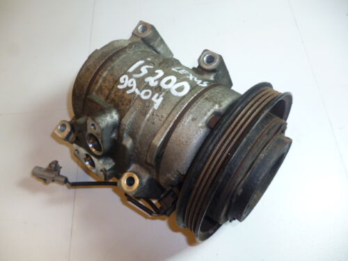 2002 LEXUS IS200 AIRCON COMPRESSOR PUMP FREE POSTAGE 100% WORKING LOW MILEAGE