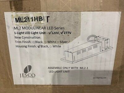 Jesco Lighting Group ML21 LED Recessed Modulinear - 1 Head