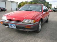 1986 Honda CRX DX Hatchback-First Generatiom-Rare Car
