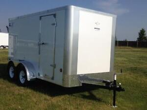 6x12 TANDEM AXLE ENCLOSED ROYAL LT CARGO *7799 GVWR*TAX IN $5013