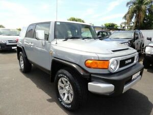 2014 Toyota FJ Cruiser GSJ15R MY14 Silver 5 Speed Automatic Wagon West Ballina Ballina Area Preview