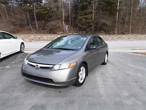 2007 HONDA CIVIC!! ONLY $5998! NEW 2 YR MVI! WARRANTY AVAILABLE!