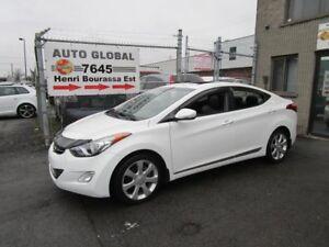 Hyundai Elantra LIMITED, TOIT,CUIR, NAVI, BAS KILOMÉTRAGE! 2011