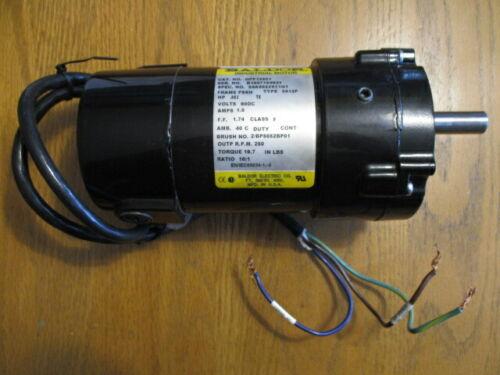 1/12 HP BALDOR 250 RPM TENV 90VDC GEARMOTOR GPP12501