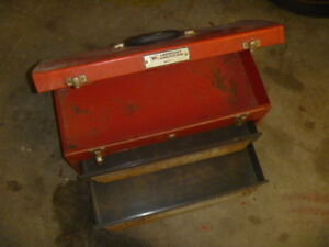 American Made Two Drawer Metal Toolbox