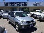 2002 Toyota RAV4 ACA20R Edge (4x4) Silver 5 Speed Manual 4x4 Wagon Wangara Wanneroo Area Preview