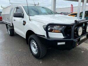 2016 Ford Ranger PX MkII XL White 6 Speed Manual Cab Chassis Albion Park Rail Shellharbour Area Preview