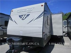 KEYSTONE HIDEOUT 272LHS - DOUBLE BUNKS - CLEARANCE- FOR SALE