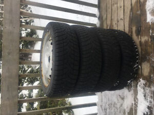 Four 175/60R16 Winter Tires