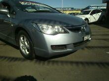2006 Honda Civic 8th Gen VTi-L Blue 5 SPEED Manual Sedan Clyde Parramatta Area Preview