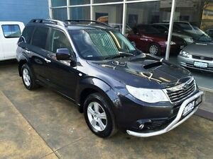 2010 Subaru Forester MY10 2.0D Charcoal Grey 6 Speed Manual Wagon Hobart CBD Hobart City Preview