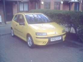 02 PLATE FIAT PUNTO SPORTING,6-SPEED.