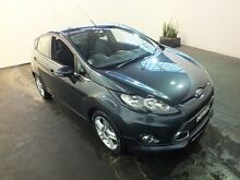 2012 Ford Fiesta WT Zetec Grey 6 Speed Automatic Hatchback Clemton Park Canterbury Area Preview