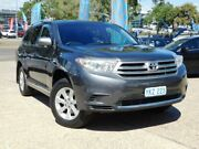 2012 Toyota Kluger GSU40R MY11 Upgrade KX-R (FWD) 5 Seat Grey 5 Speed Automatic Wagon Belconnen Belconnen Area Preview