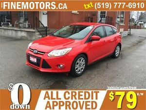 2012 FORD FOCUS SE HATCHBACK * EASY ON GAS * FINANCING AVAILABLE London Ontario image 4
