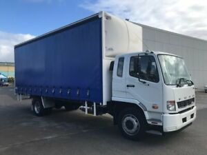 2017 MITSUBISHI FUSO FIGHTER 1627, 270HP, 6 SPEED SYNCRO MANUAL TRANSMISSION, NOSE CONE, SEAT COVERS Milperra Bankstown Area Preview
