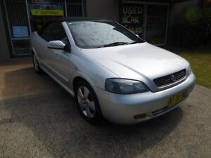 2005 Holden Astra TS MY05 Silver 4 Speed Automatic Convertible Ballina Ballina Area Preview