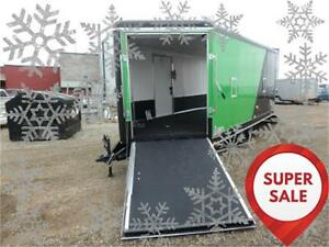 SUPER SALE!! 8.5x20 Enclosed Sled Trailer -*-HEATED -*- Tax In!