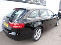 AUDI A4 2.0 AVANT TDI SE 5d 134 BHP (black) 2014