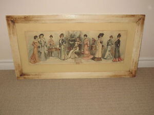 1900 Fashion The Latest Fall and Winter Styles Printed Framed Cambridge Kitchener Area image 2