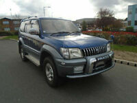 TOYOTA LAND CRUISER / COLARDO / PRADO TZ EDITION 8 SEATER