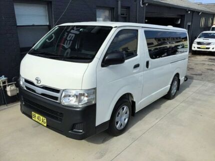 2012 Toyota Hiace KDH201R MY11 Upgrade LWB White 4 Speed Automatic Van Peakhurst Hurstville Area Preview